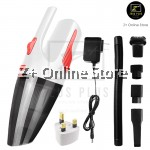 Z PLUS 120W Cordless Rechargeable Portable Handheld LED Car Vacuum Dry Wet Home Cleaner