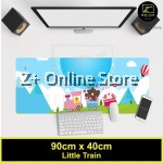 Z PLUS Line Cartoon Large Gaming Thickened Desktop Laptop Keyboard Mouse Pad(Train)