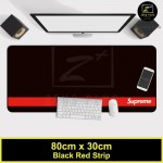 Z PLUS Large Gaming Thicken Desktop Keyboard Mouse Pad Laptop Accessory(RDStrip)