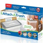 Z PLUS Attach-A-Trash Hanging Trash Bag Holder