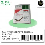 Pan-Mate Disposable Adult Baby Under Pad Diaper (60cm x 75cm) Large [8 pcs]