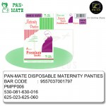 [Malaysia Brand] Pan-Mate 6 pcs Premium Maternity Disposable Panties (Free Size)