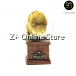 Retro Miniature Nostalgic Resin Crafts Gifts Decoration Mini Prop Camera Radio Telephone Phonograph Player Piano