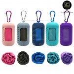 Z PLUS Mini Silicon Portable Quick Dry Towel Travel Beach Swim Camp Gym Outdoor Sports Exercise