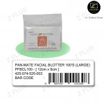 Pan-Mate Facial Nose Oil Control Remover Sheets Blotter Oily Skin Absorbant Pore 100'S Large