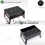 Z PLUS Foldable Portable Outdoor Charcoal BBQ Grill Family CNY Party Camping Travel