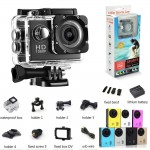 2019 Action Camera Sport Cam 1080p Full HD Diving Waterproof 12MP