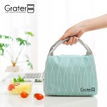Grater Japanese Thermal Lunch Bag Aluminium Foil Heat Insulation Canvas Lunch Box Storage