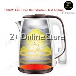 Z PLUS SUS304 Upgraded Stainless Steel Extra Thick Electric Jug Kettle Keep Warm Boil (1.8L)