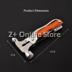 Multi Purpose Safety Hammer Escape Window Shatter Life Saver Cutter Screw Driver Plier Can Opener