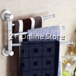 [Stock Clearance] 3 Arms Kitchen Wall Mounted Aluminium Clothes Scarf Towel Hanger Holder Organizer Rack