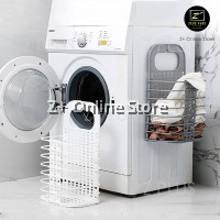 Foldable Strong Adhesive Suction Wall Waterproof Dirty Clothes Toy Store Laundry Basket Bathroom Bedroom