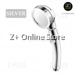 High Pressure Self Button 3 Setting Water Volume Control Shower Head Stainless Steel SUS304 Water Booster