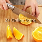 Set of 3 Bayco Knife Set Stainless Steel Combo Chopping Knife Slicing Knife Fruit Knife Kitchen Thick Utensil