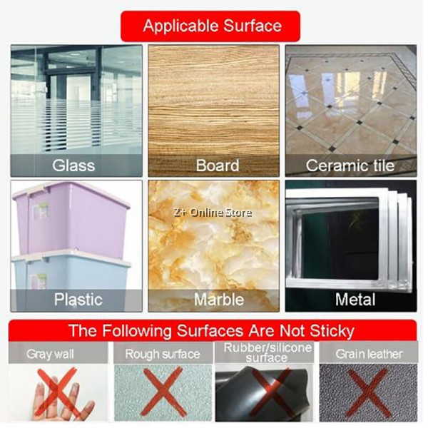 Nano Tape Traceless Washable Adhesive Double Sided Reusable Clear Sticky Power Tape
