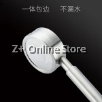 Full Stainless Steel SUS304 Bathroom 300 Holes High Pressure Booster Nozzle Water Saving Shower Head Anti Leak Scald