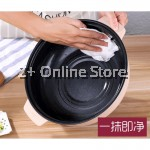 2L Electric Cooker Pot Non Stick Oil Fry Stir Soup Boil Steamboat Stainless Steel Steam Tray Multipurpose Cooker
