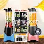600ml Portable Electric fruit Juicer Blender Cutter Shaker 4 blades Stainless Steel SUS304 High Borosilicate Tritan Bottle
