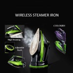 Sokany Electric Wireless Rechargeable Handheld Portable Steam Iron_2085 Garment Fast Steamer Clothes Adjustable Temperature