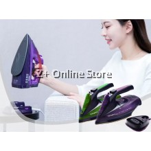 Sokany Electric Cordless Handheld Portable Garment Steam Iron 2085 Wireless Steamer Clothes 5 speed Adjustable Temperature