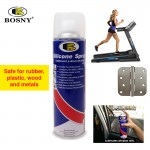 BOSNY Mold Release Silicone Spray Rubber Plastic Wood Metal Care Doors Windows 500cc