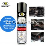 BOSNY Undercoat Rubberize Spray Paint Road Noise Corrosion Stone Chip Car Motor Care  600cc