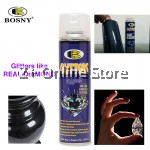 BOSNY Glitters Effect Spray Paint Diamonds Cars Decorations Toys Home Care Sparkling Bicycles 200CC