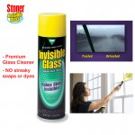STONER Invisible Glass Windows Clean Remove Mirrors Tables Doors Clear Spray Care - 19 oz