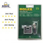 SOLEX Resistant House Door Lock Safe Key Security Office Padlock CU 40/50