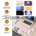 Z PLUS Electric Mouse Pad Safe Heating Mat Table Mat Electric Heating Pad Office Corporate Christmas Gift