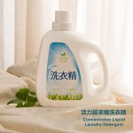 活力净超浓缩洗衣精 Concentrated Liquid Wash Living House Remove Dirt Stains Clothes Laundry Detergent (1800ml)