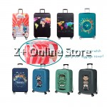 [Local Ready Stock] Elastic Travel Luggage Cover Travel Suitcase Protective Cover Anti-Scratch Dust Proof