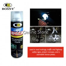 BOSNY Light Reflector Road Traffic Safety Signs Retro Night Motorcycles Spray Paint 200CC [ONLY FOR WEST MALAYSIA]