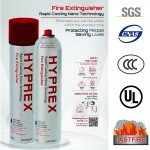 HYPREX 460ml Fire Extinguisher with Rapid Cooling Nano Technology