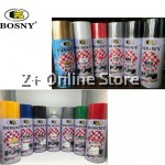 (12 CANS) BOSNY 100% Acrylic Aerosol Spray Paint Automotive Spray Furniture Spray 400ml
