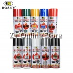 12 CANS BOSNY Hi-Heat 400F Resistant Spray Paint [ONLY FOR WEST MALAYSIA]