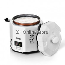 Z PLUS 1.2L Electric Mini Rice Cooker Pot 1-2pax Non-Stick Coating Cooker Cook Soup Pot