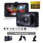 3.0 Inch Dashcam Full HD 1080P DVR Video Camera Recorder 170° Wide Angle Smart  BlackBox