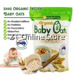 Yes Natural Health Paradise Certified Organic Instant Baby Oats (500g) 高品有机速溶燕麦High in Beta-Glucan (soluble fibre) 含有丰富可溶性纤维