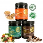 Yes Natural 120g Organic Madam Kooi Vegetable / Mushroom / Vegetable G Seasoning Stock桂夫人素G风味/桂夫人蔬菜风味/香菇风味调味料 120g  (No Added MSG)