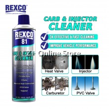 500ML REXCO 81 Carburetor Carb & Injector Cleaner Pembersih Karburetor & Injector [ONLY FOR WEST MALAYSIA]