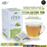 [Halal] Era Herbal FITEA Natural Detox Tea Bag 20's 天然草药健身排毒茶包 Detoxification Improve Constipation (Detoks Badan & Rawat Sembelit)
