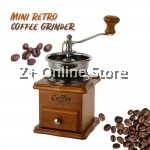 Retro Wooden Manual Coffee Grinder Manual Hand Coffee Bean Expresso Coffee Maker Grinder