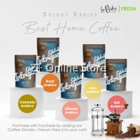 LeBistro Select Freshly Roasted Coffee Beans 200g (Whole Bean)