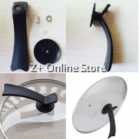 Wok Lid Cover Grip Cookware Universal Kitchen Holder Pan Handle Handgrip Kitchen Tools