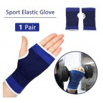 Elastic Gym Gloves Wrist Wrap Hand Fitness and Palm Guard Support Wrist Protector and Sports Workout Glove