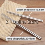1 Pair Non-slip Stainless Steel Chopsticks Environmental Stylish Chopstick Tableware Utensil Cutlery