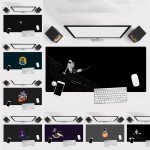 Astronaut Large Gaming Mouse Pad for PC Gamer Outer Space Galaxy Design Gaming Mat Anti Slip Mousepad Washable PC Gamer Laptop Office Home Use Present