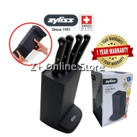 [From Swiss] Zyliss Comfort Knife Block Universal Slot Kitchen Washable Filament Knife Holder Organiser