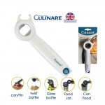[From UK] Culinare 5 in 1 Multipurpose Bottle Opener Manual Twist Anti Slip Can Lid Jar Can Food Opener Kitchen Helper Tool